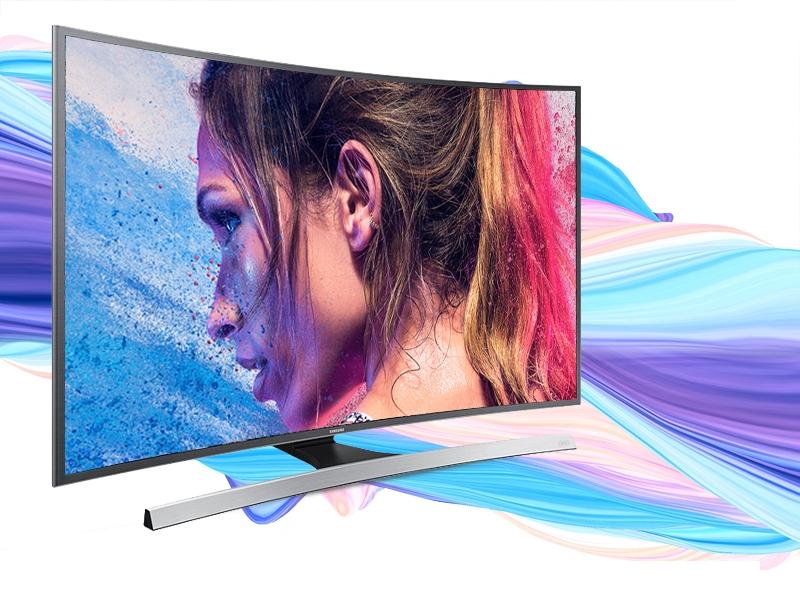 Smart tivi Samsung UA40JU6600 gây ấn tượng với thiết kế màn hình cong rất độc đáo