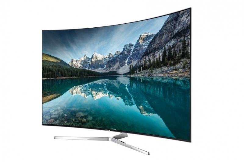 Smart tivi Samsung 65 inch UA65KS9000 mang trong mình thiết kế màn hình cong vô cùng độc đáo