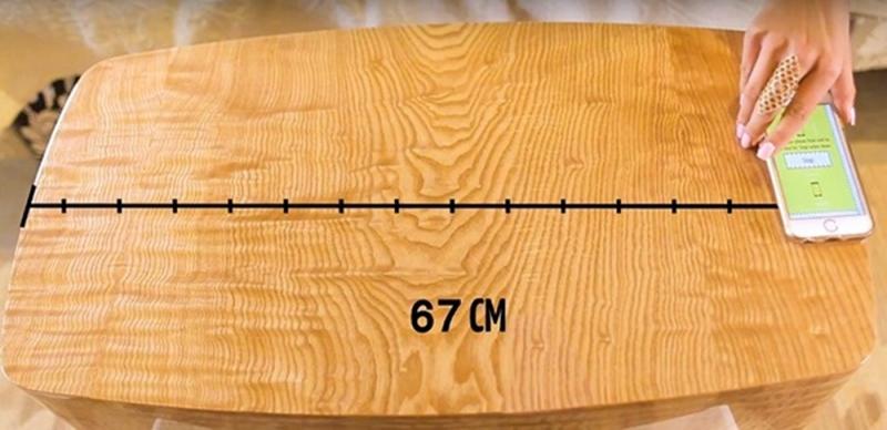 Smartphone có thể trở thành chiếc thước đo khoảng cách