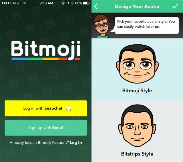 Snapchat mua lại Bitstrips với 100 triệu USD