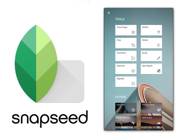 SnapSeed được Google phát triển