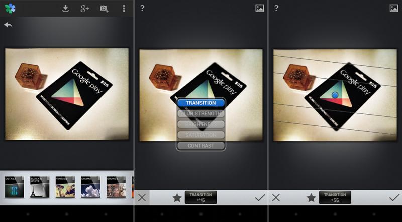 Ứng dụng chỉnh sửa ảnh Snapseed