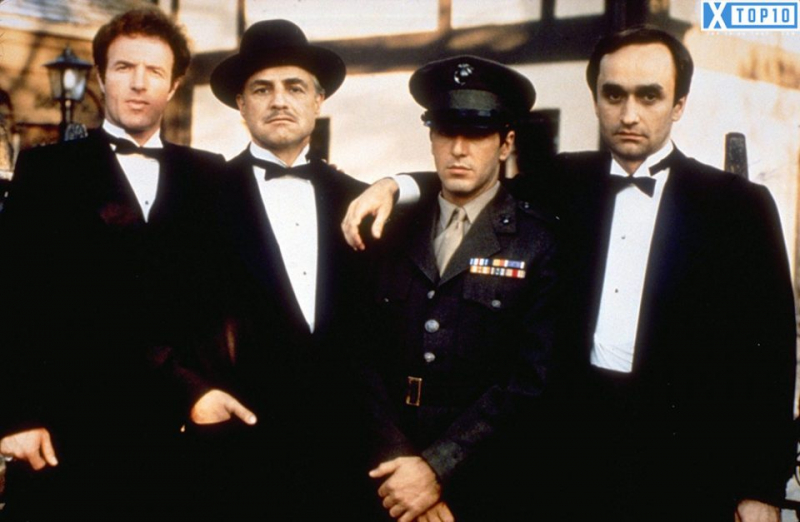 Gia đình bố già trong phim Godfather