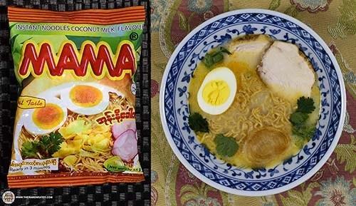 Mỳ ăn liền vị sữa dừa hảo hạng MAMA – Myanmar