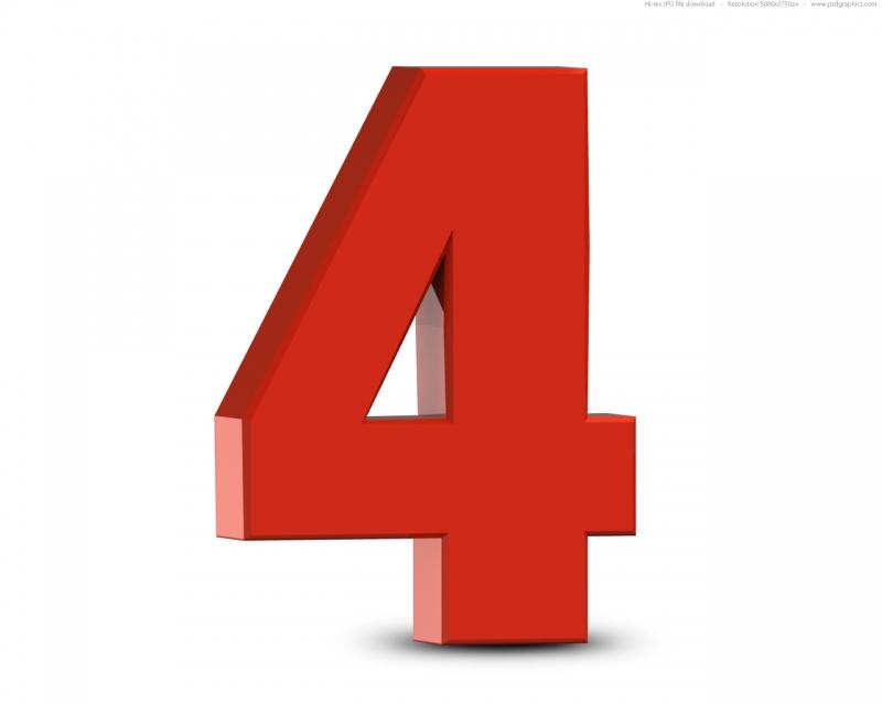 Số 4 xui xẻo