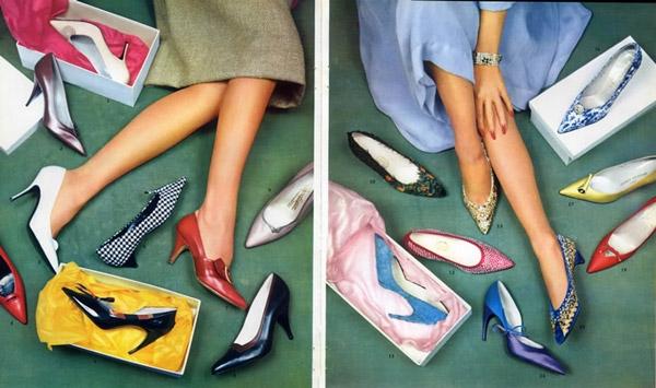 Bao nhiều giày cho đủ!
