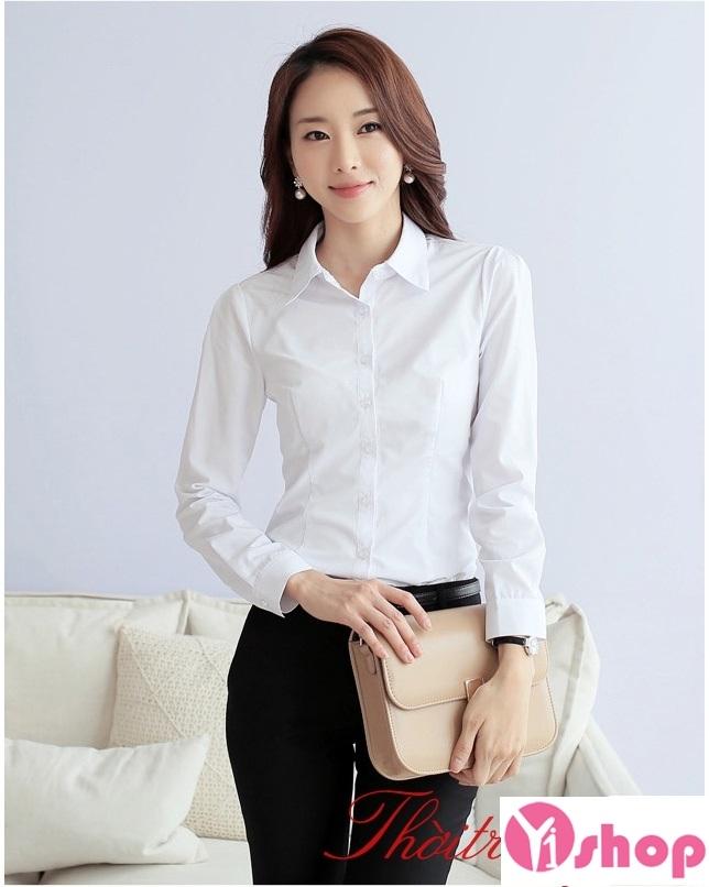 Áo sơ mi trắng mang lại cho bạn vẻ đẹp thanh lịch và sang trọng