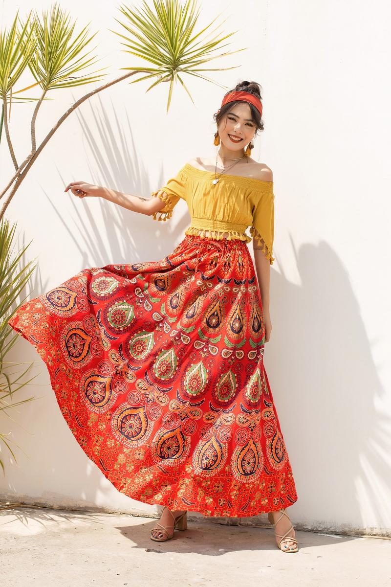 Top 7 địa chỉ chuyên váy dài boho siêu đẹp tại Hà Nội và Tp. HCM