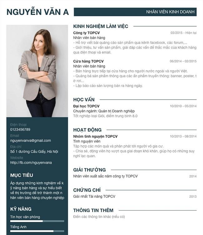 Khi cập nhật thông tin các bạn nên lưu ý dựa vào yêu cầu tuyển dụng mà bạn điều chỉnh CV cho phù hợp.