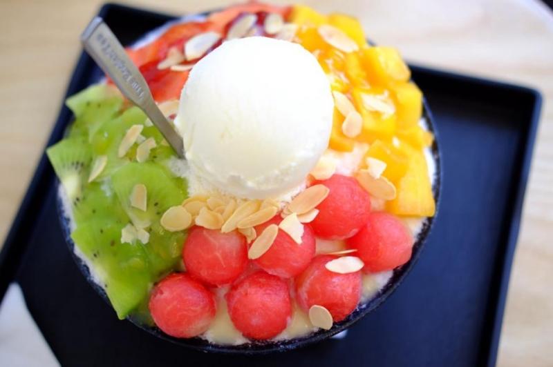 Bingsu mix trái cây