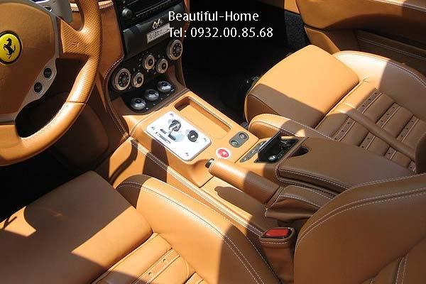 Bọc ghế da xe hơi và bọc da tay lái