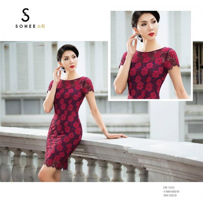Đầm công sở phong cách Hàn Quốc tại Shop.