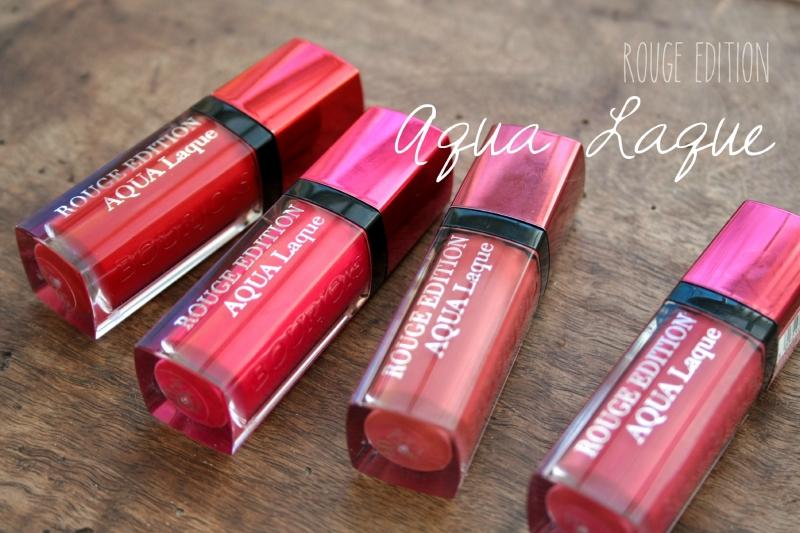 Những thỏi son Bourjois Rouge Edition Aqua Laque đầy mê hoặc