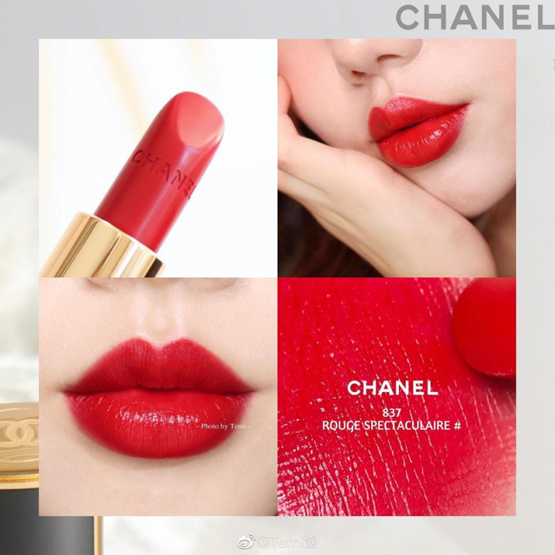 Son Chanel Rouge Allure 837 Rouge Spectaculaire