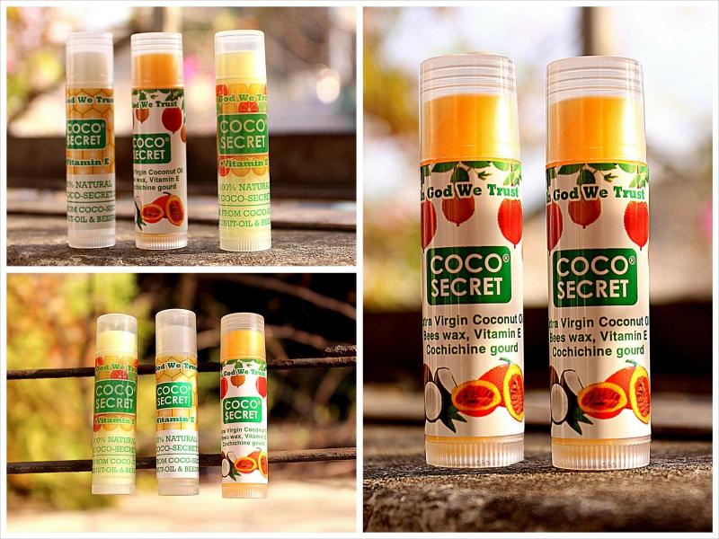 Son dưỡng ẩm dầu dừa sáp ong Coco- Secret