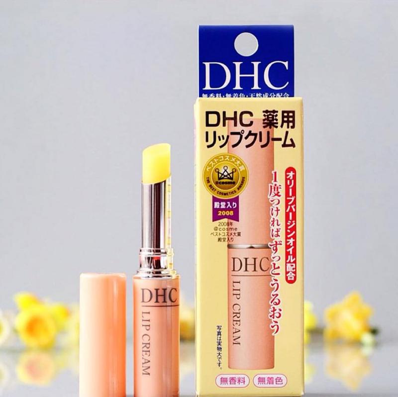 Son dưỡng môi DHC lip cream Nhật Bản