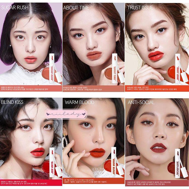 Son Kem CandyLab Creampop The Velvet Lip Color