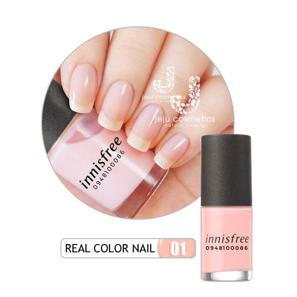 Sơn dưỡng móng tay có màu Innisfree Real Color Nail
