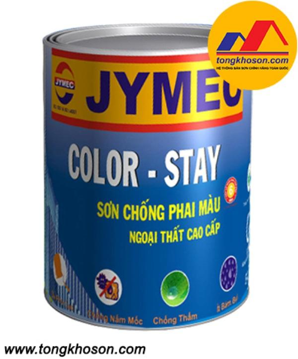 Sơn Jymec thiết kế bên ngoài bóng chống phai màu