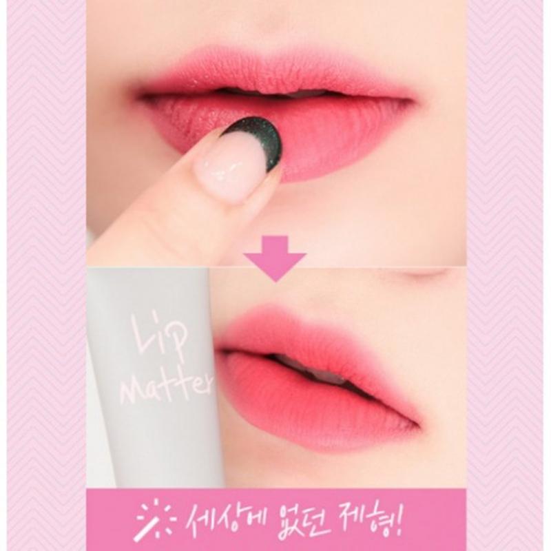 Với Romand Lip Matter, nàng sẽ có một đôi môi mọng quyến rũ cùng một màu son duy trì bền lâu, khác hẳn với các loại son thông thường.