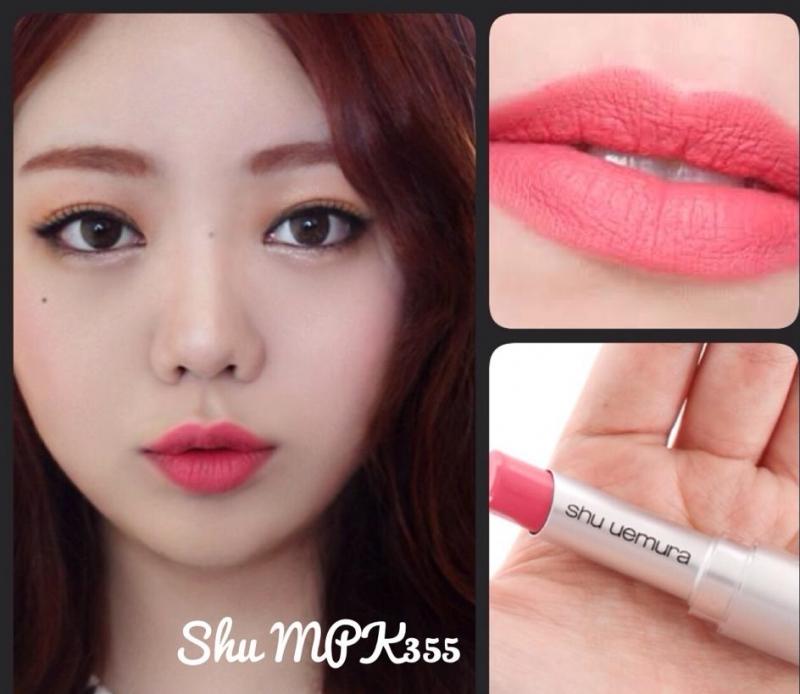 Son Shu Uemura PK 355 Rouge Unlimited Lipstick