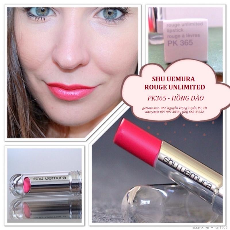 Son Shu Uemura PK 365 Rouge Unlimited Lipstick