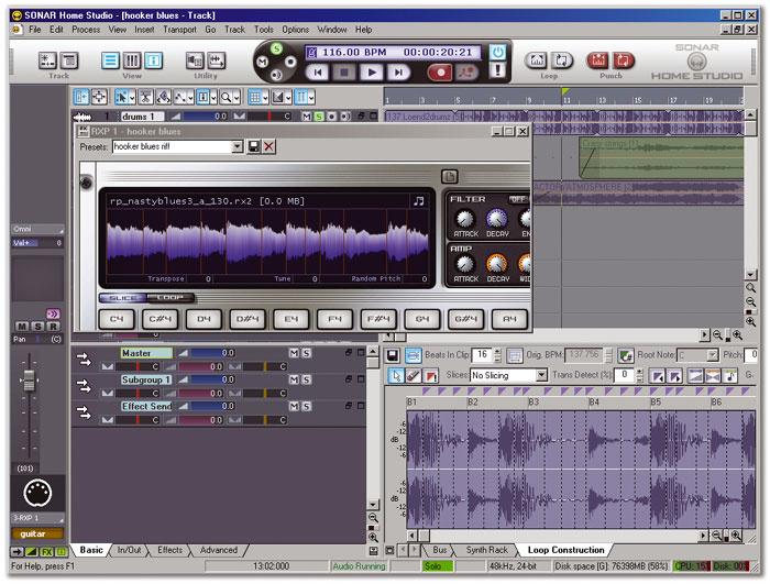 Sonar Studio