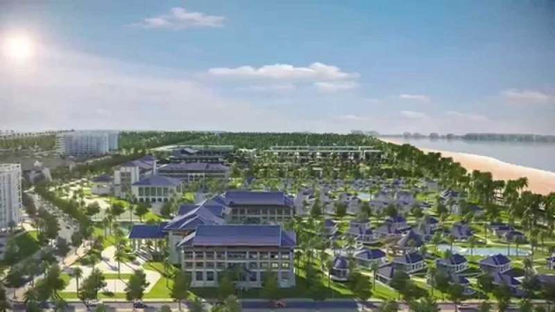 Sonasea Villas & Resort - nơi có hoàng hôn trên biển đẹp nhất Việt Nam