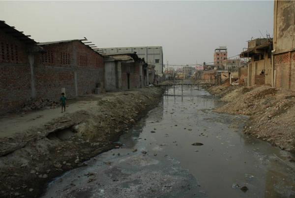 Ô nhiễm tại sông Buriganga