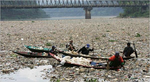 Citarum từng được mệnh danh là dòng sông bẩn nhất thế giới