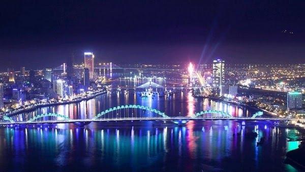 Sông Hàn - Đà Nẵng về đêm