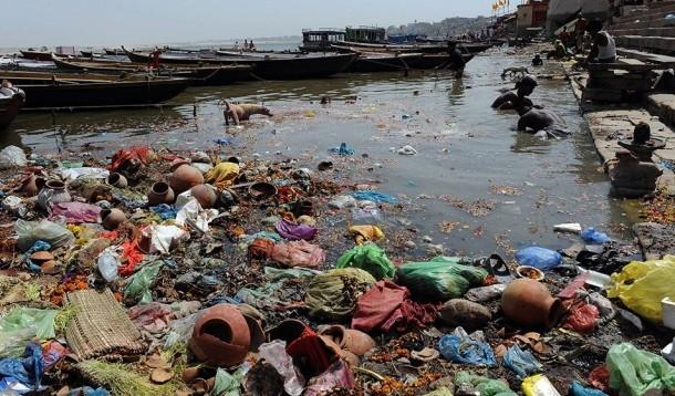 Tình trạng ô nhiễm ở sông Hằng