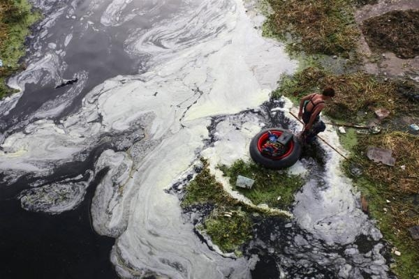 Sông Hoàng Hà nay trở thành nỗi buồn Trung Quốc