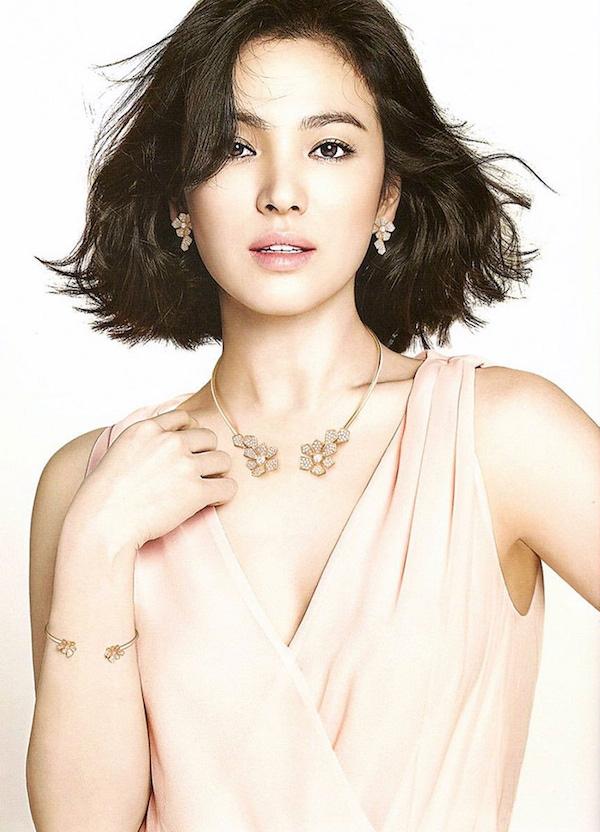 Song Hye Kyo với gương mặt mộc đẹp nhất