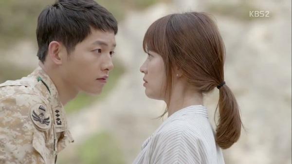 Đại úy Song Joong Ki và nàng bác sĩ Song Hye Kyo trong