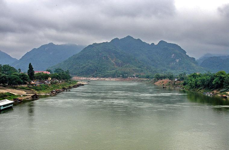 Sông Lô, địa phận tỉnh Tuyên Quang