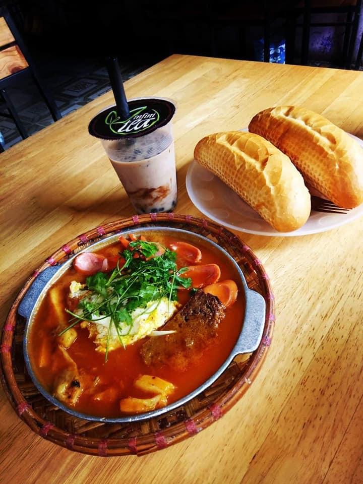 Bánh mì chảo Song Minh Quán