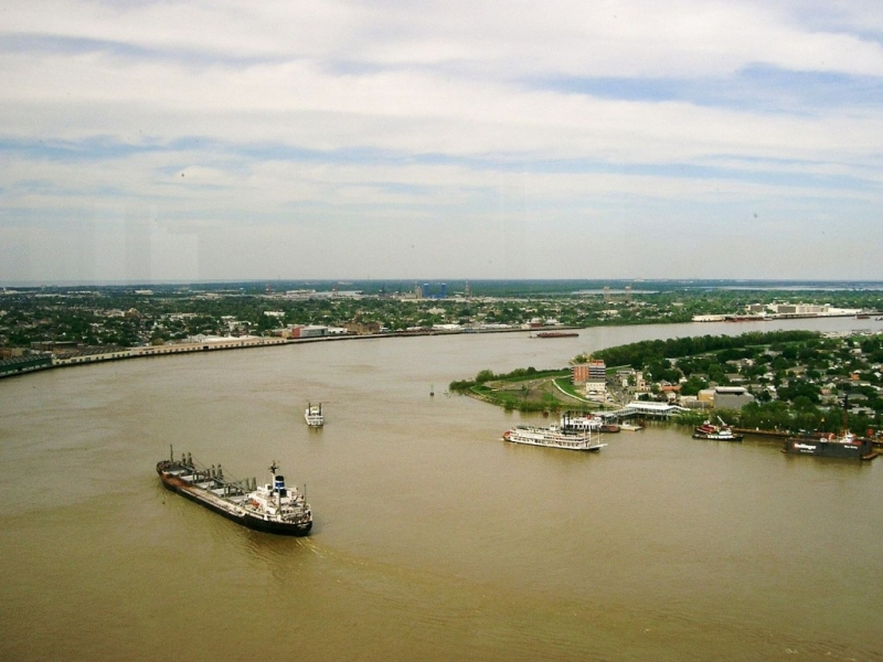 Sông Mississippi, Bắc Mỹ