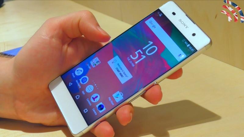 Chiếc điện thoại Sony Xperia XA