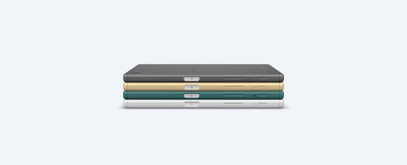 Sony Xperia Z5 Dual với 4 màu sang trọng