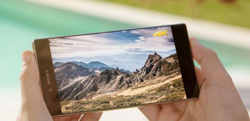 Sony Xperia Z5 Premium màn hình 4k siêu sắc nét