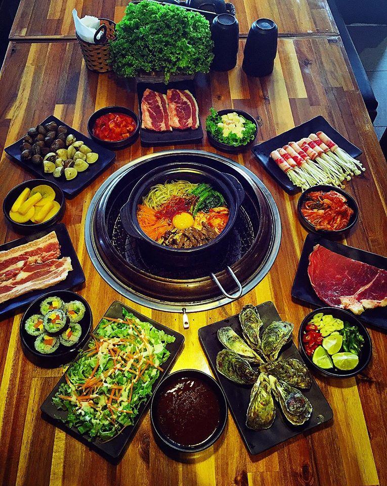 Menu của Soowon BBQ khiến thực khách ăn thả ga đã cơn thèm với trên 30 món đa dạng