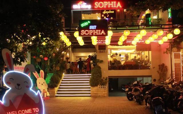 Không gian huyền ảo, lung linh về đêm ở Sophia