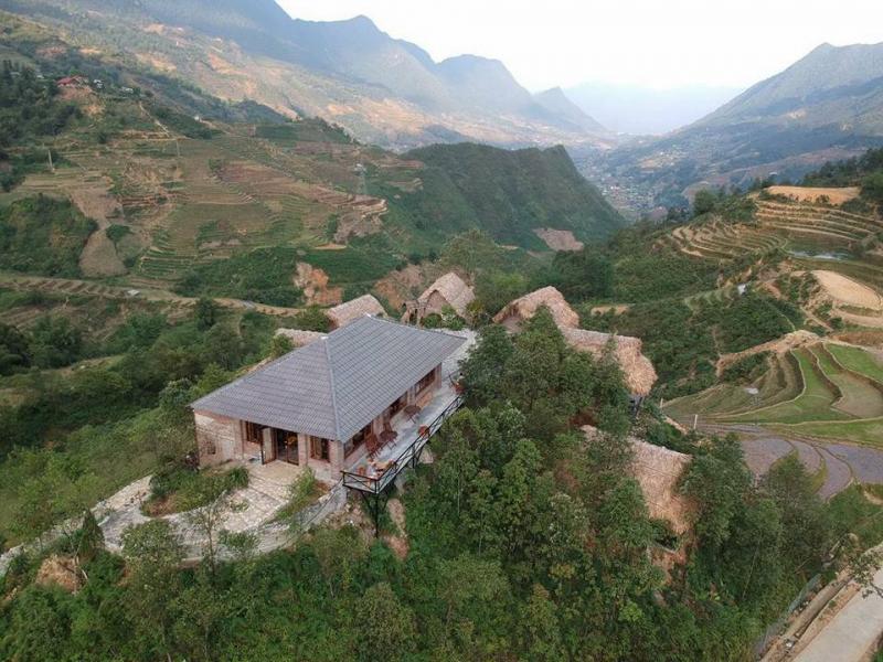 Spa Eco - Home - Mountain Retreat nhìn từ trên cao