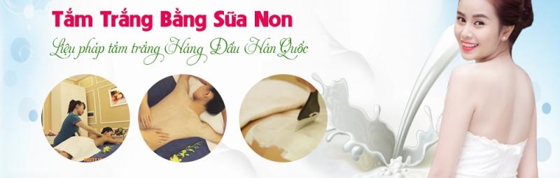 Dịch vụ tắm trắng ở Spa Vân Anh