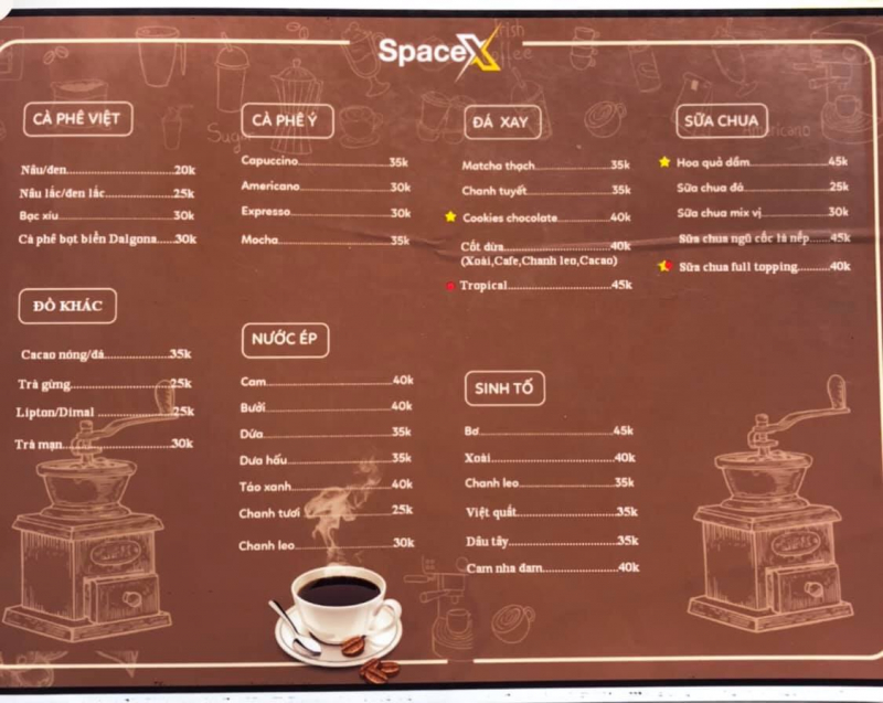 SpaceX Coffee