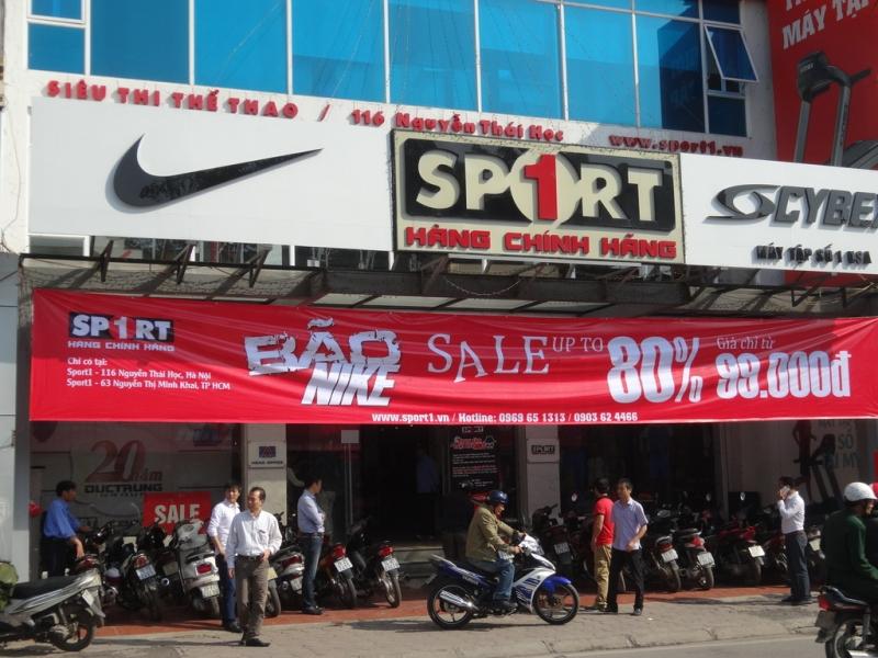 Sport1 cũng có chi nhánh tại TP. HCM.