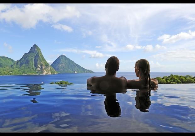 St Lucia – phong cảnh hùng vĩ