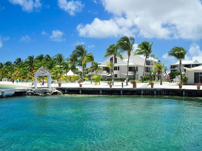 Một khu nghỉ dưỡng trên đảo Saint Martin