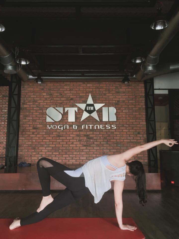 Không gian luyện tập tại Star Fitness & Yoga Centers Hue